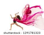 graceful ballet dancer or... | Shutterstock . vector #1291781323