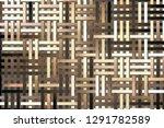 conceptual background woven mat ... | Shutterstock . vector #1291782589
