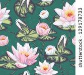 Elegant Floral Seamless Pattern ...