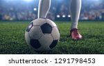 photo of a soccer player ... | Shutterstock . vector #1291798453