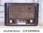 vintage antique radio | Shutterstock . vector #1291808806