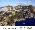 aerial view in capri  italy | Shutterstock . vector #1291811800