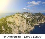 aerial view in capri  italy | Shutterstock . vector #1291811803