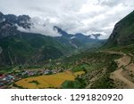 high altitude villages and... | Shutterstock . vector #1291820920