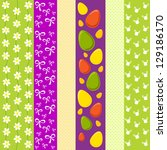easter vintage background with...   Shutterstock .eps vector #129186170