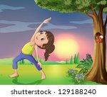Illustration Of A Girl...