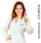 Постер, плакат: A young nurse with