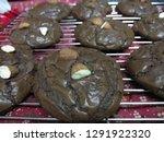 crinkle brownie cookies with... | Shutterstock . vector #1291922320