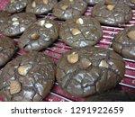 crinkle brownie cookies with... | Shutterstock . vector #1291922659