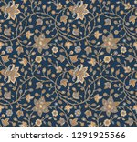seamless traditional silky... | Shutterstock . vector #1291925566