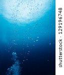 Bubble Underwater