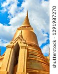 grand palace and wat phra keaw...   Shutterstock . vector #1291987270