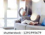 wonderful weekend. delighted... | Shutterstock . vector #1291995679