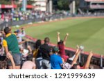blurred image of spectators... | Shutterstock . vector #1291999639