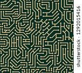 circuit board seamless pattern  ...   Shutterstock .eps vector #1292015416