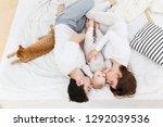 portrait of loving parent...   Shutterstock . vector #1292039536
