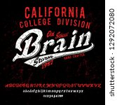 brain storm. california college ... | Shutterstock .eps vector #1292072080