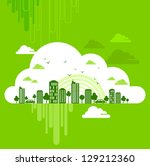 eco friendly concept | Shutterstock .eps vector #129212360