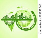 eco friendly concept | Shutterstock .eps vector #129212363