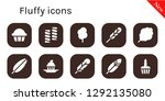 fluffy icon set. 10 filled... | Shutterstock .eps vector #1292135080