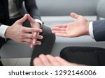 close up of hands gesturing... | Shutterstock . vector #1292146006