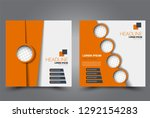 square flyer design. a cover...   Shutterstock .eps vector #1292154283