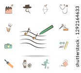 composer tools icon. detailed... | Shutterstock .eps vector #1292164633