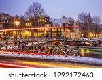 amsterdam  netherlands  ... | Shutterstock . vector #1292172463