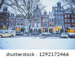 amsterdam  netherlands  ... | Shutterstock . vector #1292172466