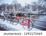 amsterdam  netherlands  ... | Shutterstock . vector #1292172469