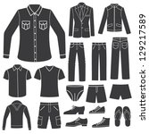 Set Of Men\'s Clothing.