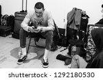 milan  italy   january 14 ... | Shutterstock . vector #1292180530