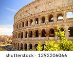 colosseum  coliseum  in rome ... | Shutterstock . vector #1292206066