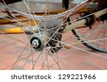 Rear Wheel Of Tricycle   Thai...