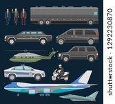 government car vector...   Shutterstock .eps vector #1292230870