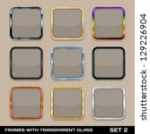 Set Of Colorful App Icon Frame...