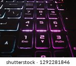close up photo of numeric pad... | Shutterstock . vector #1292281846