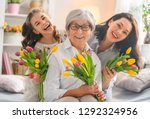 happy women's day  child... | Shutterstock . vector #1292324956