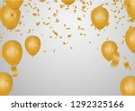 celebration party banner with... | Shutterstock .eps vector #1292325166