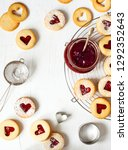 Traditional Linzer Cookie With...