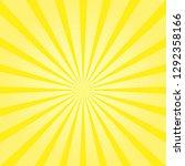 vector sunburst sunshine.... | Shutterstock .eps vector #1292358166
