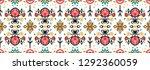 seamless floral pattern folk...   Shutterstock .eps vector #1292360059