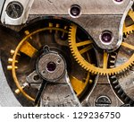 close up view of old clock's... | Shutterstock . vector #129236750