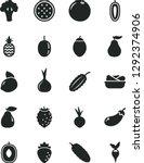 solid black vector icon set  ...   Shutterstock .eps vector #1292374906