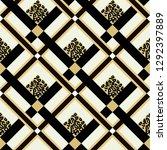 scottish white tartan grunge... | Shutterstock .eps vector #1292397889