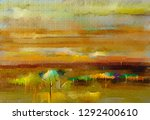 abstract oil  acrylic painting...   Shutterstock . vector #1292400610