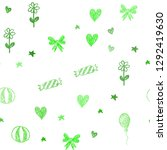 light green vector seamless... | Shutterstock .eps vector #1292419630