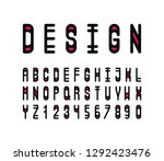 vector of stylized abstract... | Shutterstock .eps vector #1292423476