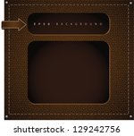 leather background. jpg | Shutterstock . vector #129242756
