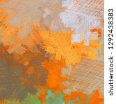 abstract painting backdrop on... | Shutterstock . vector #1292438383